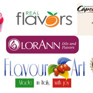 FlavorArt,Capella,Inawera,Real Flavors Flavoring