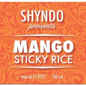 Mango Sticky Rice Shyndo Shots