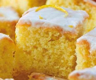 Lemon Drizzle Cake By Oneshot Wonder
