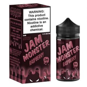 Raspberry (Limited Edition) by Jam Monster - 100ml
