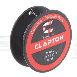 Coilology 316L Stainless Steel Clapton Heating Wire 10ft