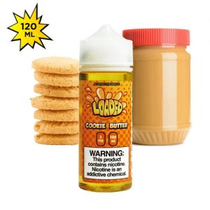 Cookie Butter By Loaded E Liquid 120ml