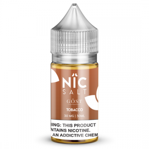 Tobacco by Gost Vapor Nicotine Salt E-Juice - 30ml