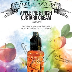 Apple Pie & Irish Cream Custard by Chef's Flavours