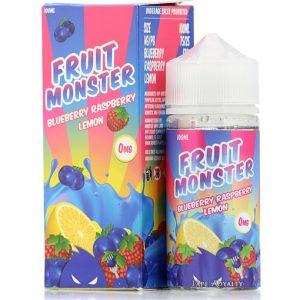 Fruit Monster Blueberry Raspberry Lemon by Jam Monster 100ml
