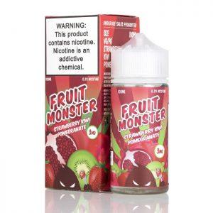 Fruit Monster Strawberry Kiwi Pomegranate by Jam Monster 100ml