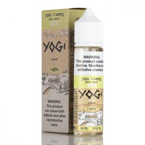 White Grape on ICE - Yogi Farms E-Liquids - 60mL