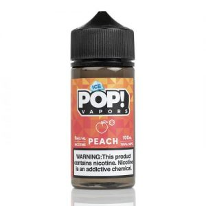 Peach Gummies ICED - POP! Vapors - 100mL