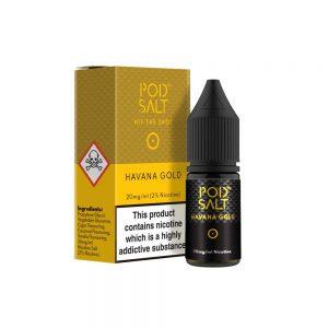Havana Gold eLiquid by Pod Salt(10ml)