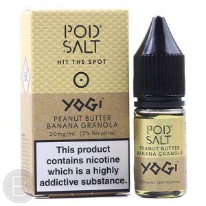 Peanut Butter Banana Granola Bar by Pod Salt(10ml)