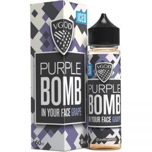 ICED Purple BOMB - VGOD E-Liquid - 60mL