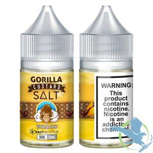 Tobacco By Gorilla Custard Salt (30ml)