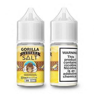 Original by Gorilla Custard Salts (30ml)