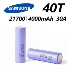 Samsung 40t Batteries 4000mAh