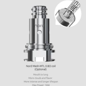 SMOK Nord MTL 0.8 Ohm Mesh Coils