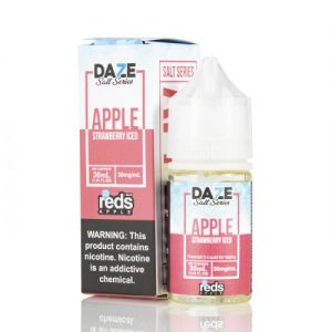 Apple Strawberry Iced by Red's Apple E-Juice - 7 Daze SALT - 30mL
